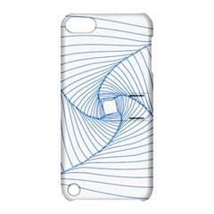 Spirograph Pattern Drawing Design Apple iPod Touch 5 Hardshell Case with Stand