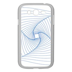 Spirograph Pattern Drawing Design Samsung Galaxy Grand Duos I9082 Case (white)