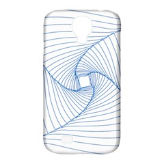 Spirograph Pattern Drawing Design Samsung Galaxy S4 Classic Hardshell Case (pc+silicone)