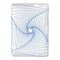 Spirograph Pattern Drawing Design Kindle Fire Hdx 8 9  Hardshell Case