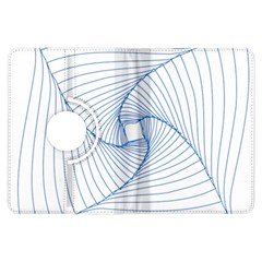 Spirograph Pattern Drawing Design Kindle Fire Hdx Flip 360 Case