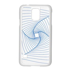 Spirograph Pattern Drawing Design Samsung Galaxy S5 Case (white)