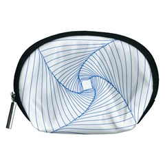 Spirograph Pattern Drawing Design Accessory Pouches (medium)