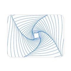 Spirograph Pattern Drawing Design Double Sided Flano Blanket (mini)