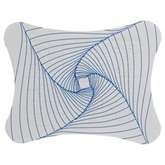 Spirograph Pattern Drawing Design Jigsaw Puzzle Photo Stand (bow)