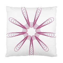 Spirograph Pattern Circle Design Standard Cushion Case (two Sides)