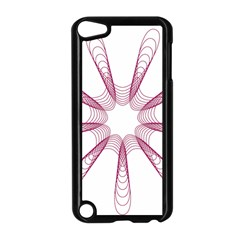Spirograph Pattern Circle Design Apple iPod Touch 5 Case (Black)