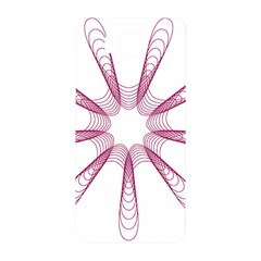 Spirograph Pattern Circle Design Samsung Galaxy Alpha Hardshell Back Case