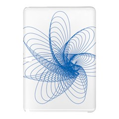 Spirograph Pattern Drawing Design Blue Samsung Galaxy Tab Pro 10.1 Hardshell Case