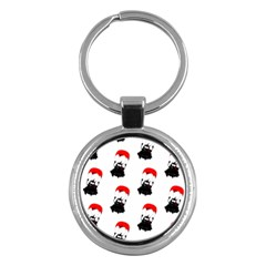 Pattern Sheep Parachute Children Key Chains (round)