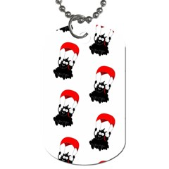 Pattern Sheep Parachute Children Dog Tag (two Sides)