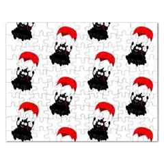 Pattern Sheep Parachute Children Rectangular Jigsaw Puzzl