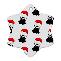 Pattern Sheep Parachute Children Ornament (snowflake)