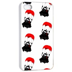 Pattern Sheep Parachute Children Apple iPhone 4/4s Seamless Case (White)