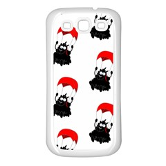 Pattern Sheep Parachute Children Samsung Galaxy S3 Back Case (white)