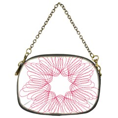 Spirograph Pattern Drawing Design Chain Purses (One Side)