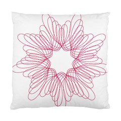 Spirograph Pattern Drawing Design Standard Cushion Case (Two Sides)