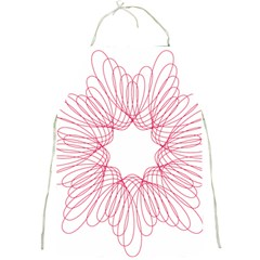 Spirograph Pattern Drawing Design Full Print Aprons
