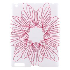 Spirograph Pattern Drawing Design Apple Ipad 3/4 Hardshell Case