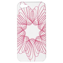 Spirograph Pattern Drawing Design Apple iPhone 5 Hardshell Case