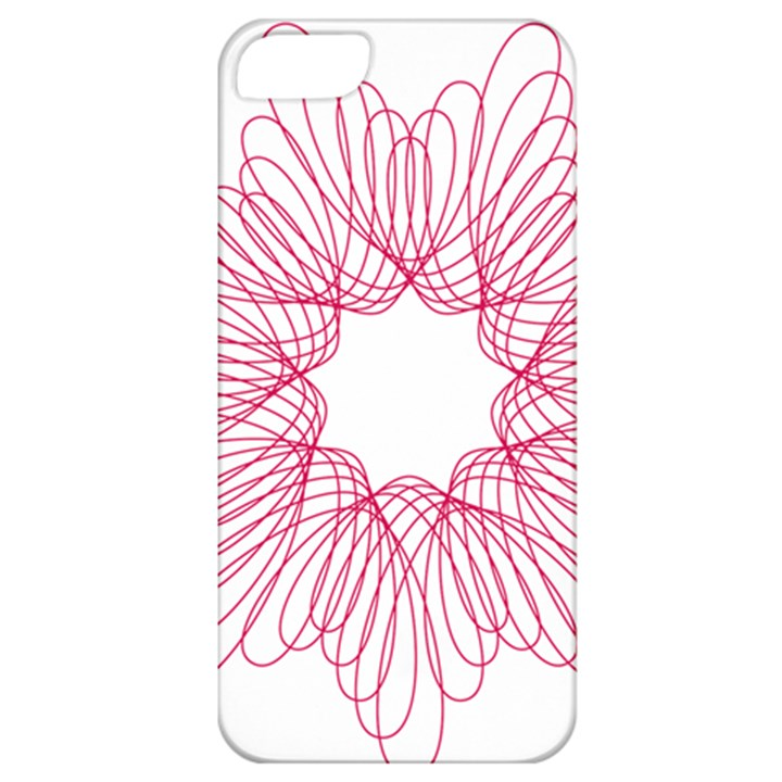Spirograph Pattern Drawing Design Apple iPhone 5 Classic Hardshell Case