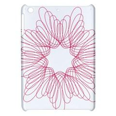 Spirograph Pattern Drawing Design Apple iPad Mini Hardshell Case