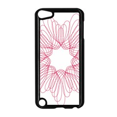 Spirograph Pattern Drawing Design Apple Ipod Touch 5 Case (black)