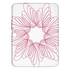 Spirograph Pattern Drawing Design Samsung Galaxy Tab 3 (10 1 ) P5200 Hardshell Case