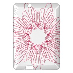 Spirograph Pattern Drawing Design Kindle Fire HDX Hardshell Case