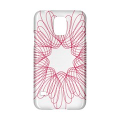 Spirograph Pattern Drawing Design Samsung Galaxy S5 Hardshell Case