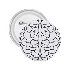 Brain Mind Gray Matter Thought 2 25  Buttons