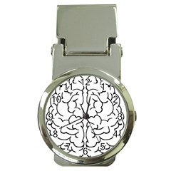 Brain Mind Gray Matter Thought Money Clip Watches