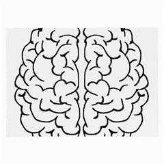 Brain Mind Gray Matter Thought Large Glasses Cloth (2 Side)