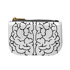 Brain Mind Gray Matter Thought Mini Coin Purses
