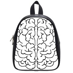 Brain Mind Gray Matter Thought School Bags (Small)