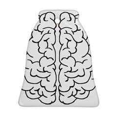 Brain Mind Gray Matter Thought Bell Ornament (Two Sides)