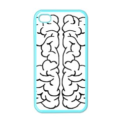 Brain Mind Gray Matter Thought Apple iPhone 4 Case (Color)