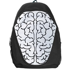 Brain Mind Gray Matter Thought Backpack Bag