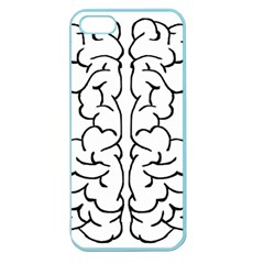 Brain Mind Gray Matter Thought Apple Seamless Iphone 5 Case (color)