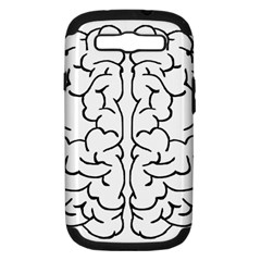 Brain Mind Gray Matter Thought Samsung Galaxy S Iii Hardshell Case (pc+silicone)