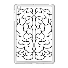 Brain Mind Gray Matter Thought Apple iPad Mini Case (White)
