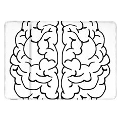 Brain Mind Gray Matter Thought Samsung Galaxy Tab 8.9  P7300 Flip Case