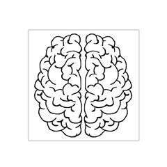 Brain Mind Gray Matter Thought Satin Bandana Scarf