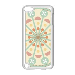 Blue Circle Ornaments Apple Ipod Touch 5 Case (white)