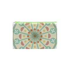 Blue Circle Ornaments Cosmetic Bag (xs)