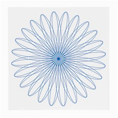 Spirograph Pattern Circle Design Medium Glasses Cloth (2 Side)