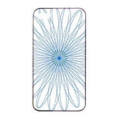 Spirograph Pattern Circle Design Apple Iphone 4/4s Seamless Case (black)