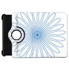 Spirograph Pattern Circle Design Kindle Fire HD 7