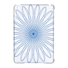 Spirograph Pattern Circle Design Apple Ipad Mini Hardshell Case (compatible With Smart Cover)