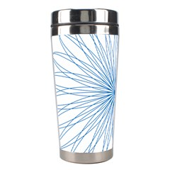 Spirograph Pattern Circle Design Stainless Steel Travel Tumblers